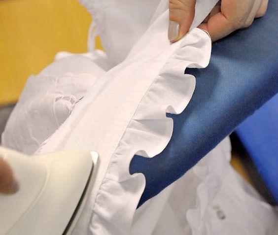 Wäscherei Zell – Bügeln