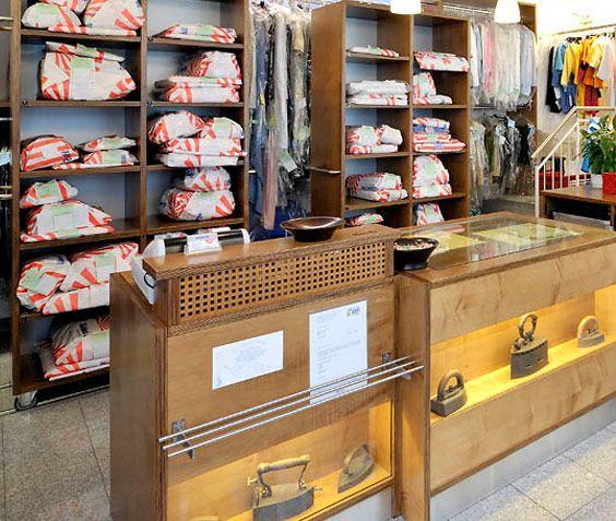 Wäscherei Zell – Ladenlokal