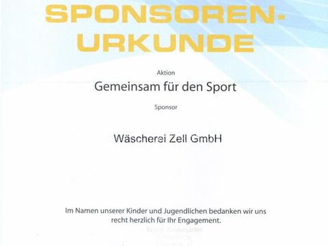Aktion: Gemeinsam für den Sport