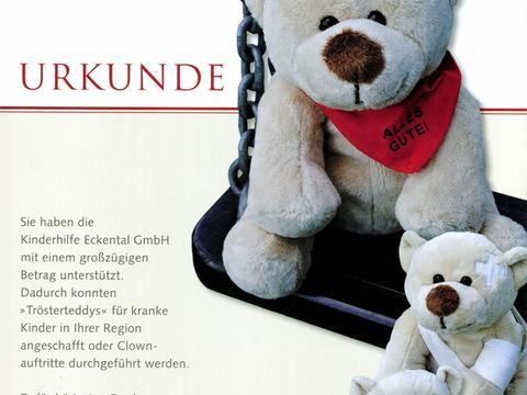 Kinderhilfe Eckental: Trösterteddys